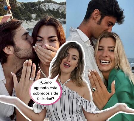 ¡Pin y Pon se casan! Teresa Andrés Gonzalvo y Marta Lozano eligen sus vestidos de novia mientras Dulceida ahoga sus penas en helado y Netflix