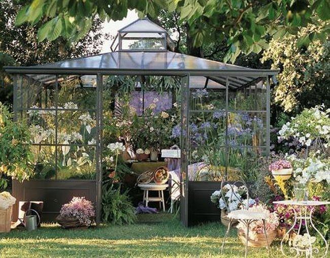Quer is un invernadero unopi tiene maravillas - Invernaderos de jardin ...
