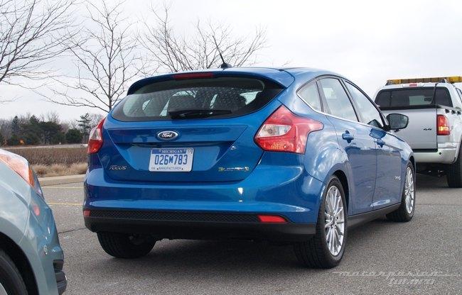 Ford Focus eléctrico toma de contacto en Dearborn (exterior) 04