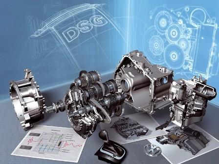 La caja DSG de 7 velocidades al detalle