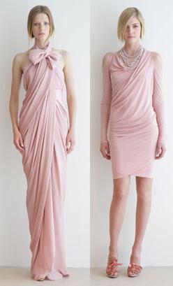 Donna Karan crucero 2009: la vida en rosa
