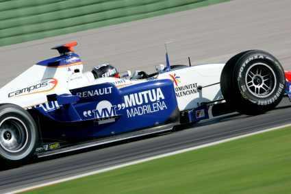 Campos anuncia sus pilotos para la GP2 2008