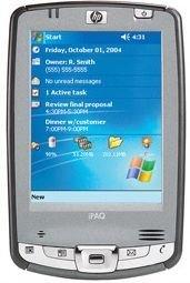 HP lanza su PDA con identificador biométrico