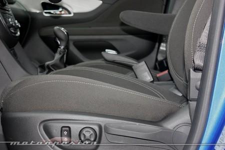Opel Mokka, acomodación en el asiento