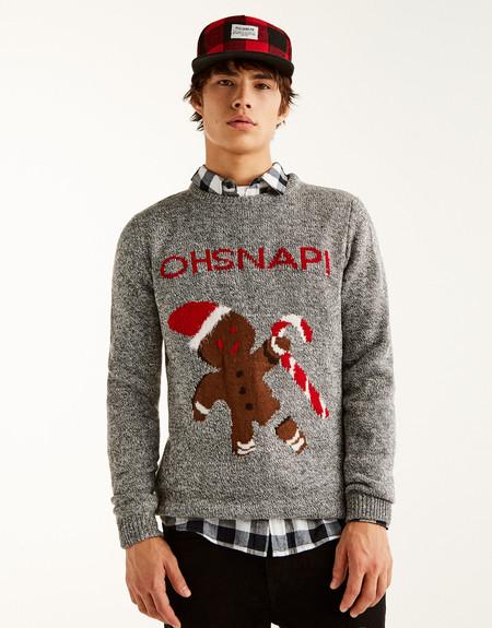 A juego suéteres navidad para parejas hombres mujeres