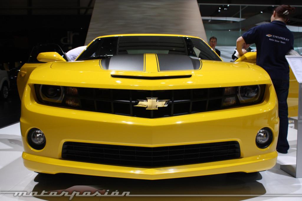Foto de Chevrolet Camaro en el Salón de Ginebra 2010 (9/12)
