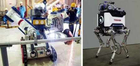 Robots en Fukushima