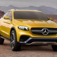 Mercedes-Benz Concept GLC Coupé: otro más a la familia SUV, desde Shanghái