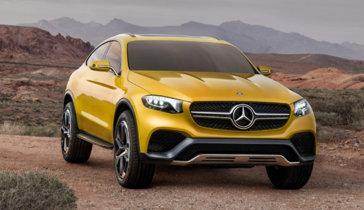 Mercedes-Benz Concept GLC Coupé: otro más a la familia SUV, desde Shangái