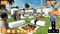 El primer mundo virtual 3D creado para el sector educativo español