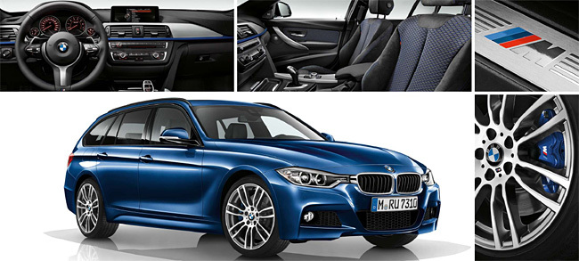 BMW Serie 3 Touring paquete M