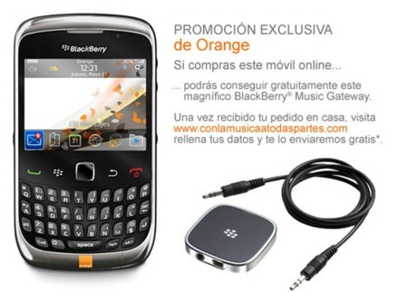 Blackberry 9300 Orange