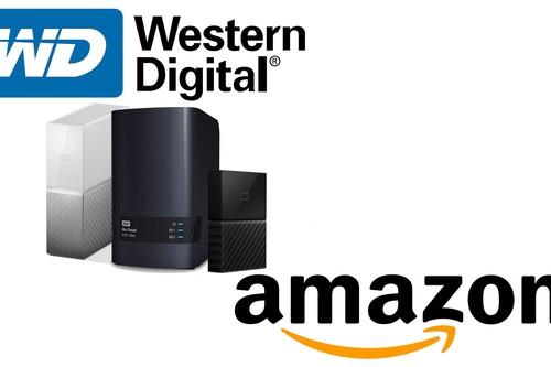 Ofertas de Amazon en almacenamiento Western Digital: NAS, discos externos de sobremesa o portables a precios rebajados