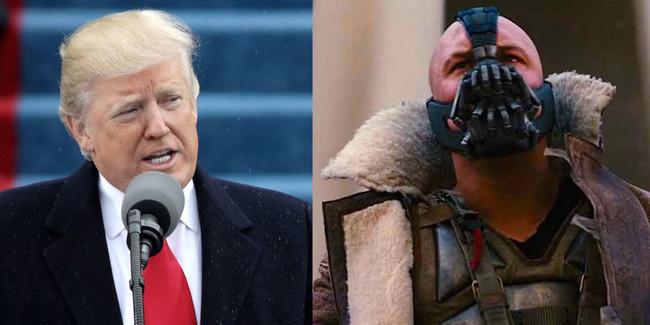 Donald Trump y Bane
