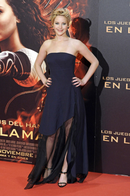 Madrid Jennifer Lawrence Dior