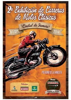 Horarios Carrera de Motos Clásicas Ciudad de Zamora, 6 y 7 de septiembre