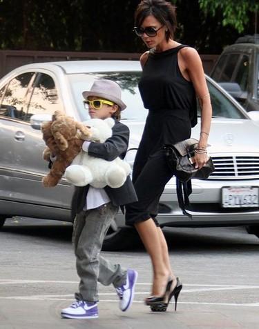 Madres con estilo: Victoria Beckham