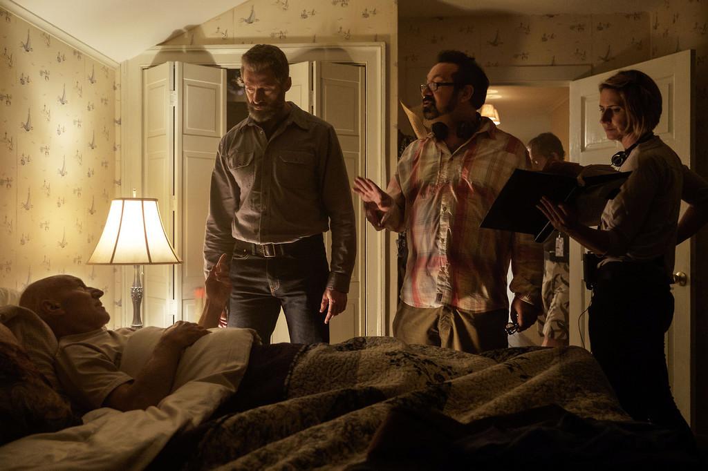 James Mangold en el rodaje de Logan