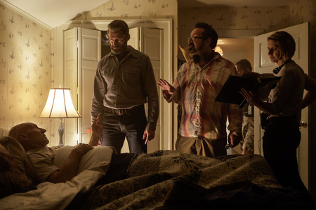 James Mangold en el rodaje de Logan