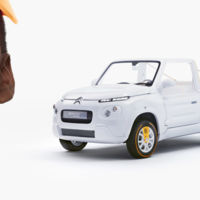 Te guste o no, el Citroën e-Mehari styled by Courrèges sigue los pasos del Méhari original