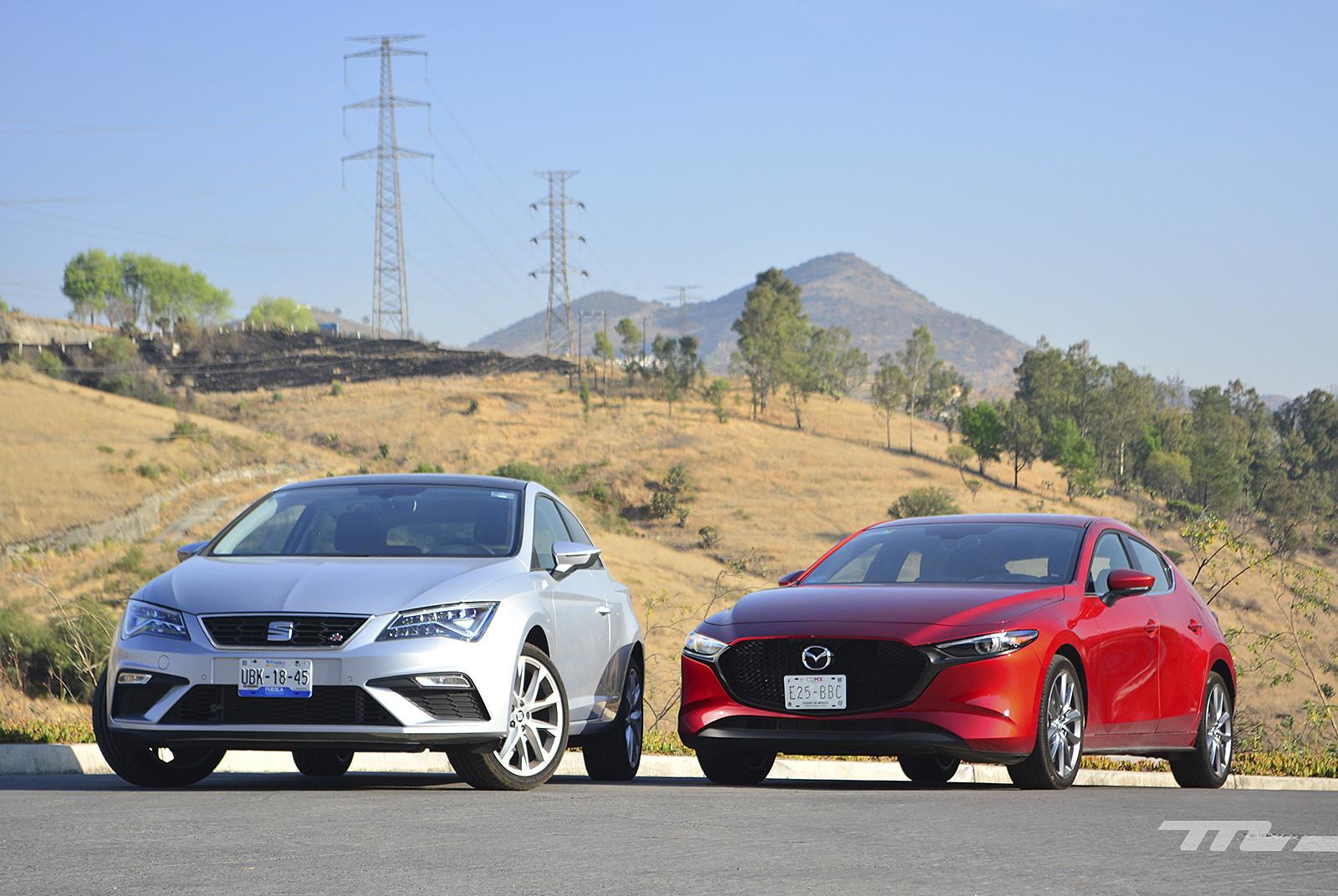 Mazda 3 vs. SEAT León (comparativa)