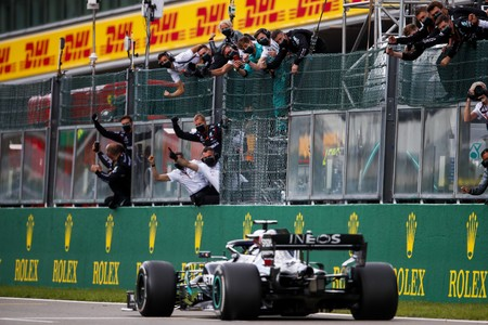 Hamilton Spa F1 2020