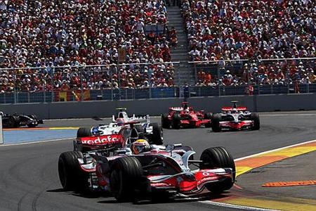Los horarios del GP de Europa de Fórmula 1