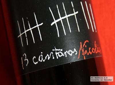 13 cántaros Nicolás 2012, un vino muy bien hecho y al alcance de todos