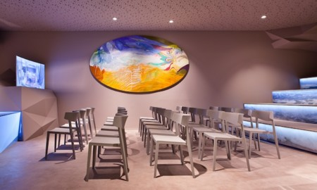 Actiu como protagonista de la zona de conferencias y presentaciones de Casa Decor Madrid 2015