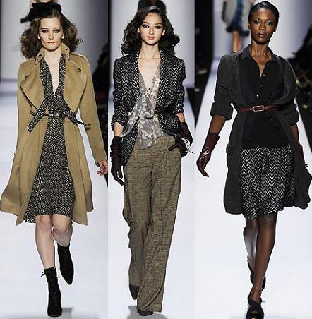 Diane Von Furstenberg en la Semana de la Moda de Nueva York otoño/invierno 2008/2009