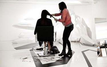 La peluquería de Zaha Hadid