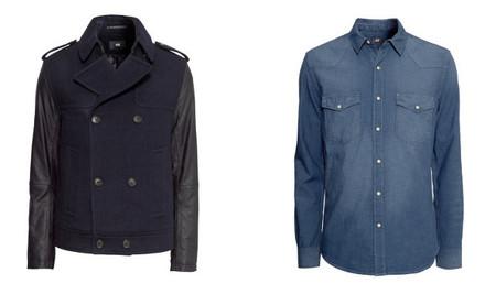 H&M otoño 2013 chaqueta combinada