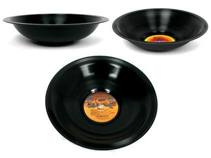Bowls de auténticos vinilos