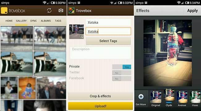 Trovebox y OpenPhoto