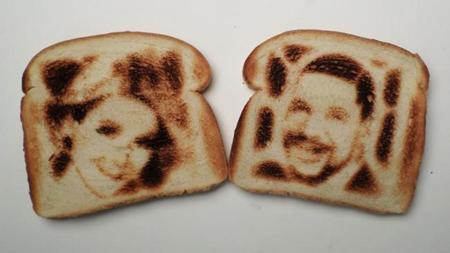 ¿Selfies en el pan tostado?
