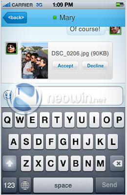 Foto de Messenger para iPhone (6/8)