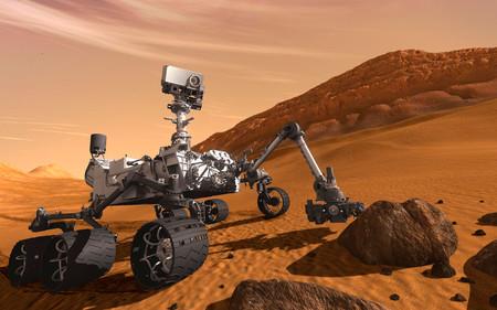 Rover Curosity en Marte