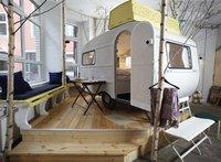 Un curioso hotel de caravanas en Berlín