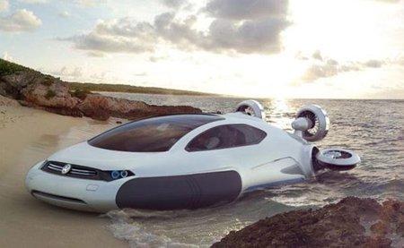 Volkswagen Aqua concept, más allá de la tierra firme