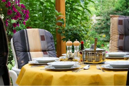 Disfrutar de la vida es comer en la terraza