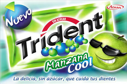 Chicle cool Trident