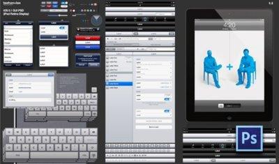 Guías de diseño de iOS para el nuevo iPad