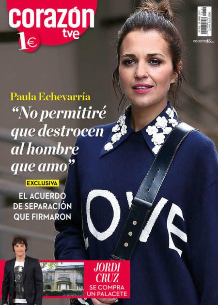 Paula Echevarría lo deja claro