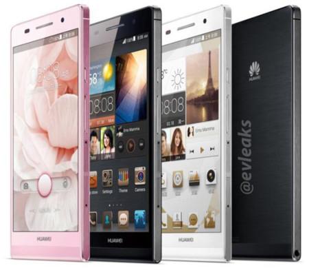 Huawei Ascend P6 promete ser el teléfono más delgado
