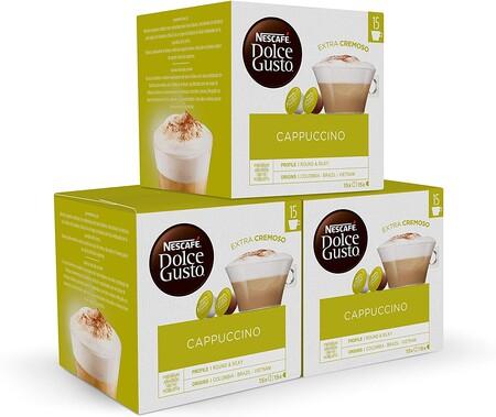 Nescafe Dolce Gusto Magnum Cafe Cappuccino Capsulas De Cafe 3 X 30 90 Capsulas