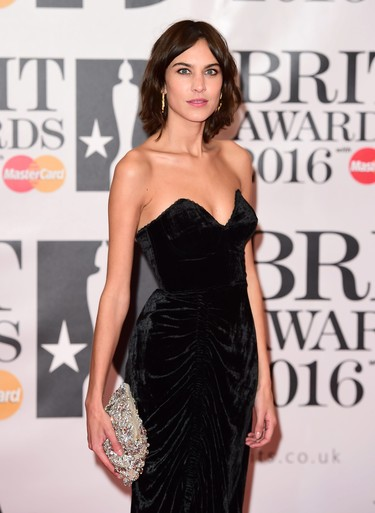 Las tres mejores melenas midi de los Brit Awards