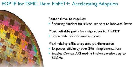 Arm Cortex A72 Finfet+ 16nm