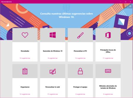 Windows 10 Recomendaciones