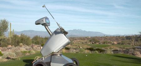 LDRIC es un robot imitador de Tiger Woods, el primero en hacer un 'hole-in-one'