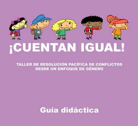 """""""Cuentan igual"""", cuentos para la igualdad y la no violencia"""